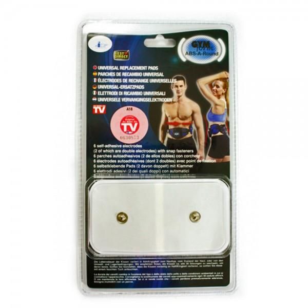 Gymform Abs-A-Round Pro Elektrodenauflagen