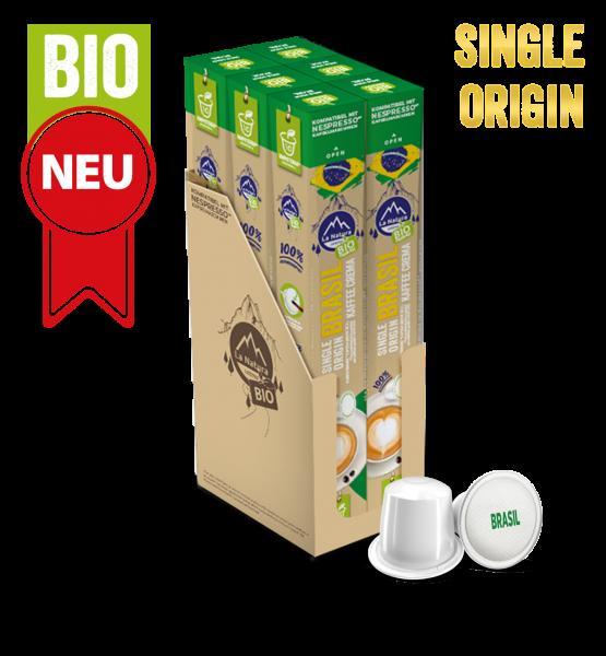 Brasil Plantagen Single Origin BIO Kaffee - 60 Kapseln La Natura Lifestyle