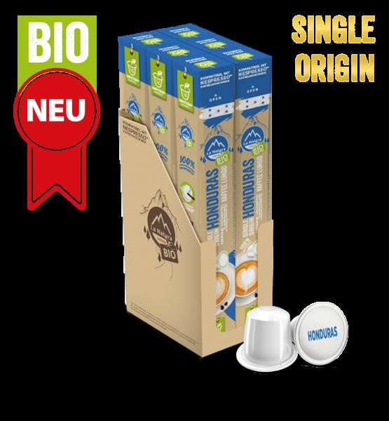 Honduras Plantagen Single Origin BIO Kaffee - 60 Kapseln La Natura Lifestyle