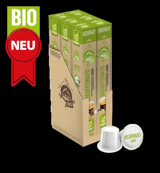 Decaffeinato Lungo BIO Kaffee - 60 Kapseln La Natura Lifestyle