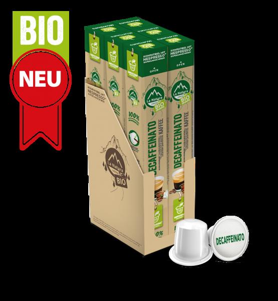 Decaffeinato BIO Kaffee - 60 Kapseln La Natura Lifestyle