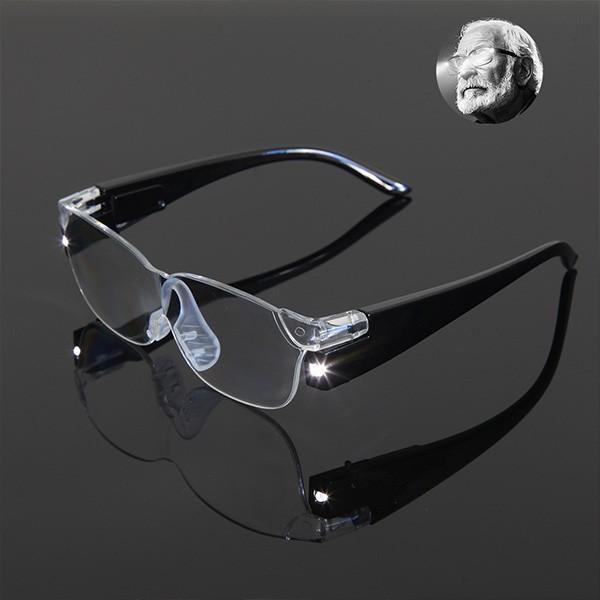 Zoom Vergrösserungsbrille mit LED Licht